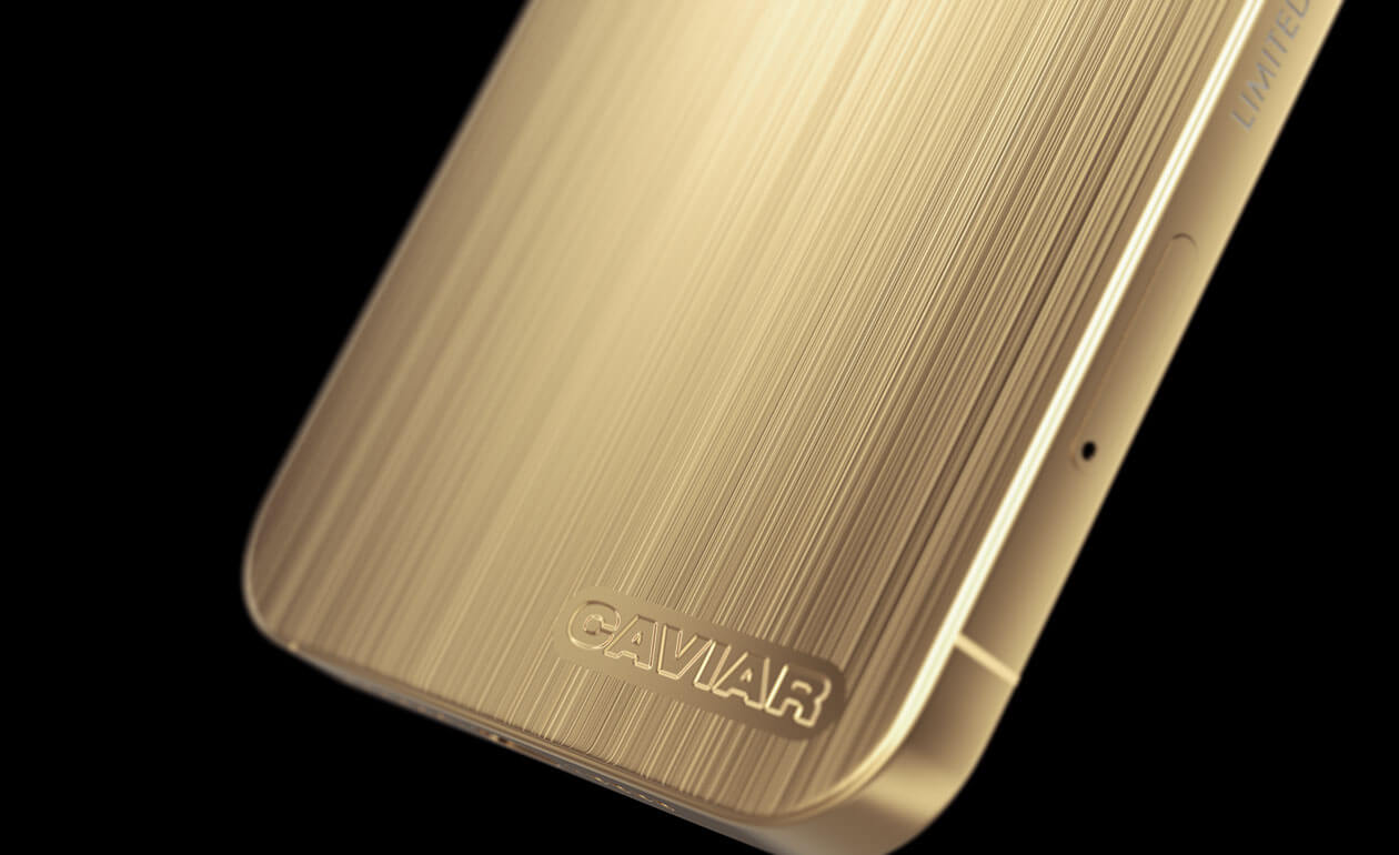Caviar iPhone 12 Pro Stealth Gold