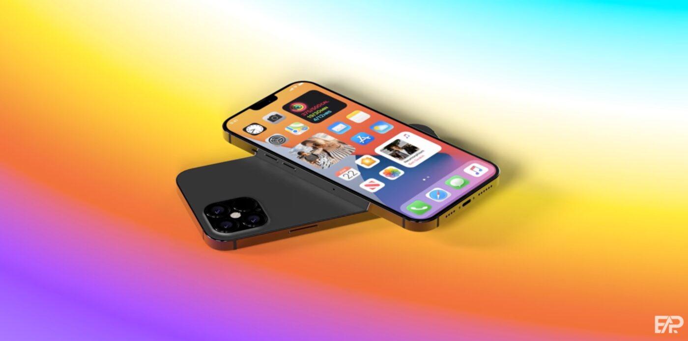 iPhone 13 koncept.