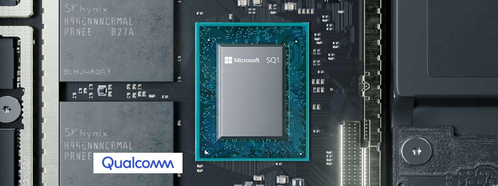 Microsoft SQ1 to procesor oparty o architekturę ARM, który powstał przy współpracy z Qualcommem (źródło: Microsoft)