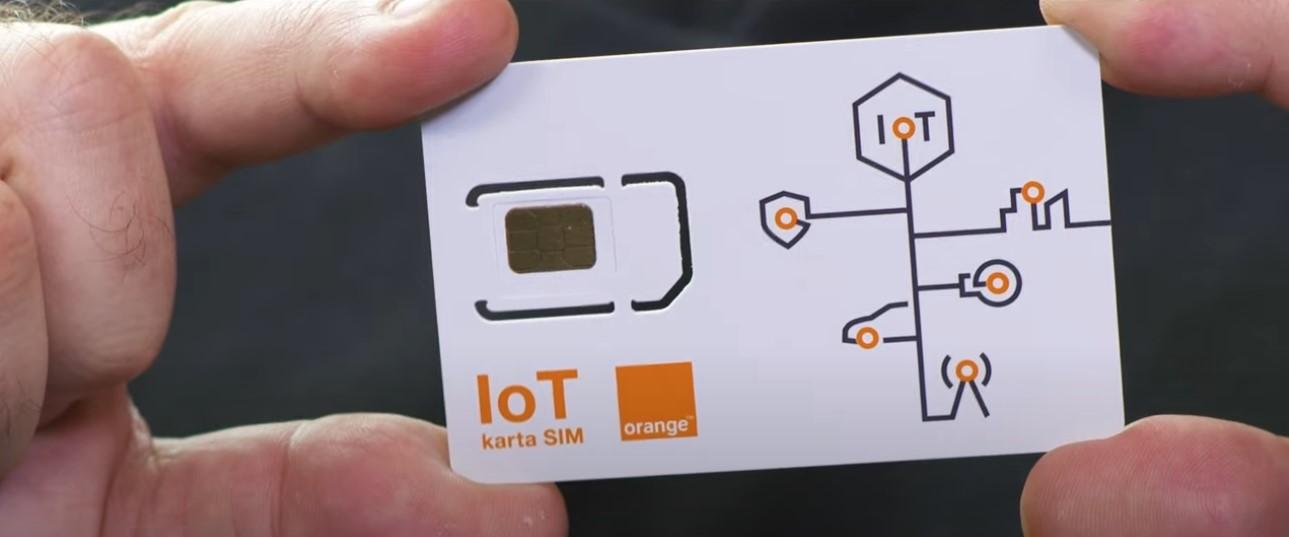 IoT karta M2M fot. Orange