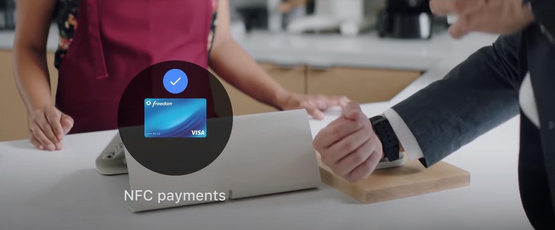 płatności zbliżeniowe Mobvoi TicWatch NFC Google Pay