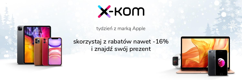 promocja x-kom Tydzień Apple