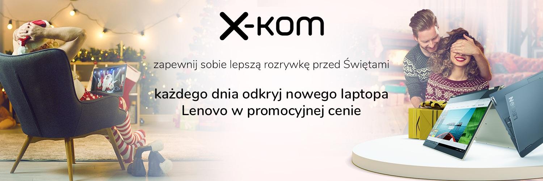 promocja x-kom Lenovo kalendarz