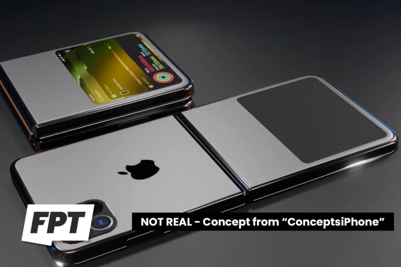 Składany iPhone – koncept