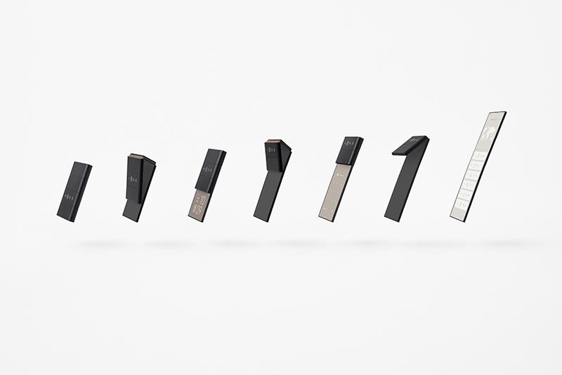 składany smartfon Oppo slide-phone