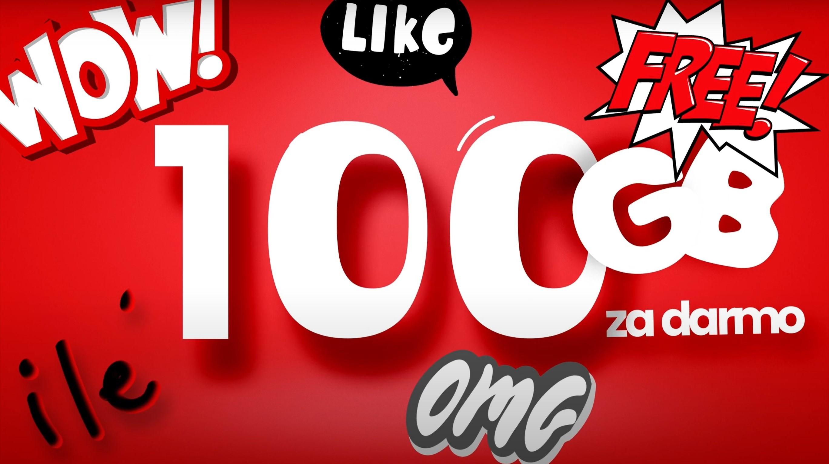 Virgin Mobile pakiet 100 GB za darmo