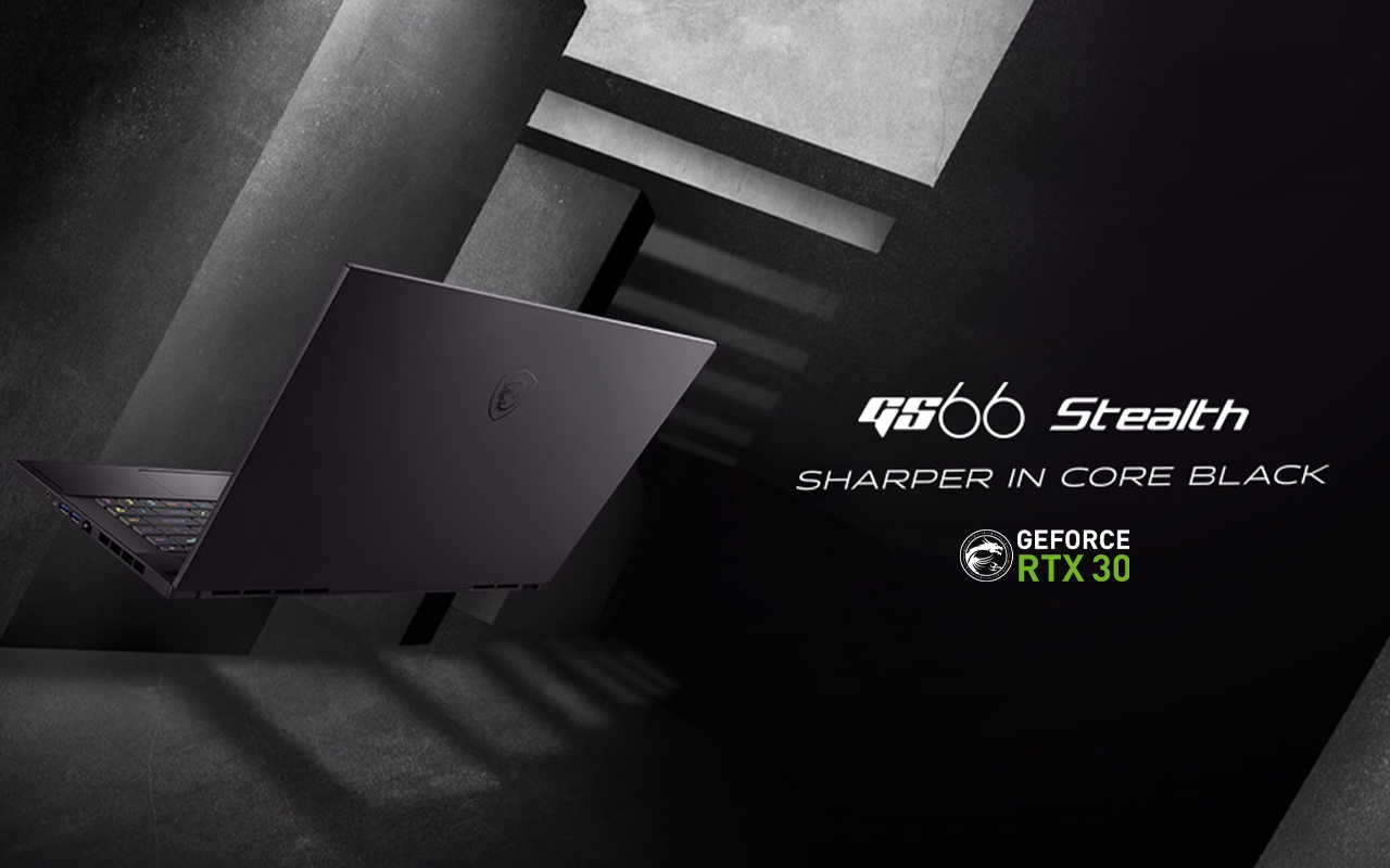 laptop MSI GS66 Stealth