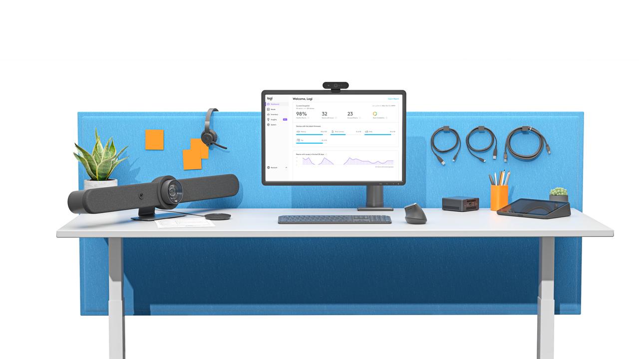 Logitech prezentuje szereg urządzeń przydatnych, jeśli w firmie korzystasz z wideokonferencji