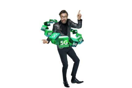 Plus 5G logo