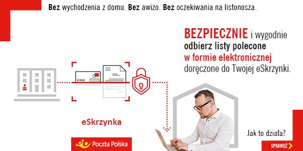 Poczta Polska list polecony eSkrzynka