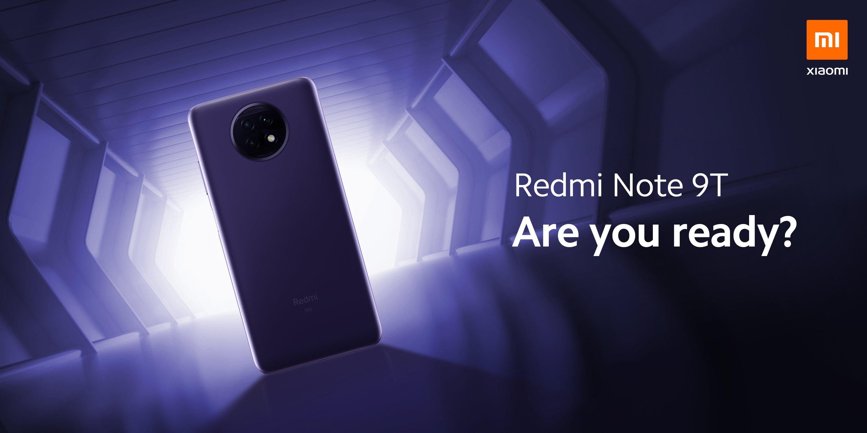 Xiaomi Redmi Note 9T 5G teaser zapowiedź premiery