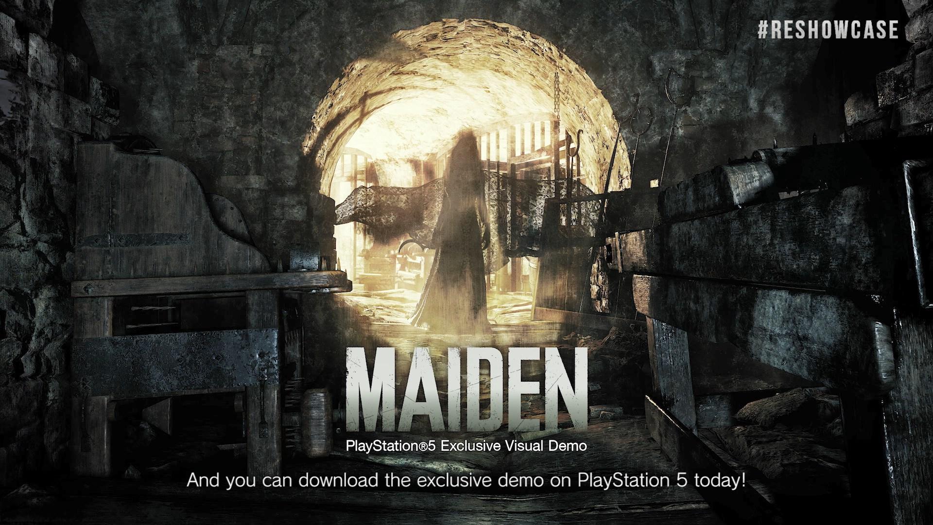 Resident Evil Village Demo Maiden PlayStation 5