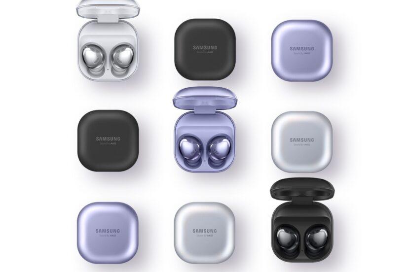 słuchawki bezprzewodowe Samsung Galaxy Buds Pro wireless earbuds TWS