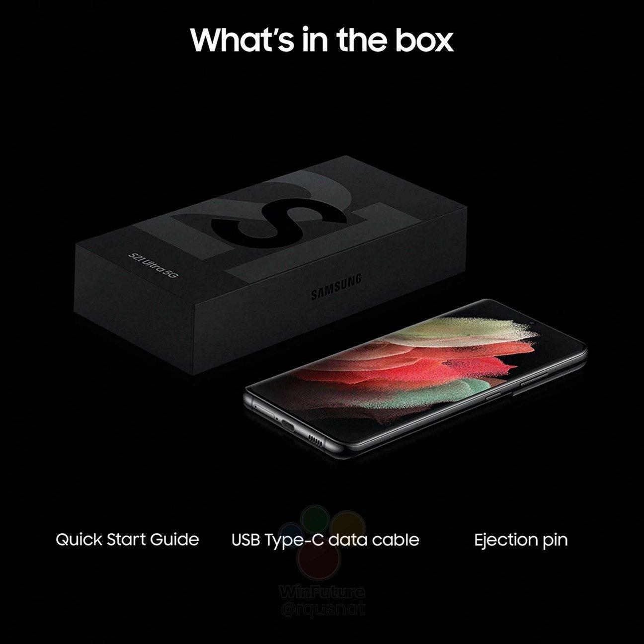 Samsung Galaxy S21 Ultra 5G co w pudełku