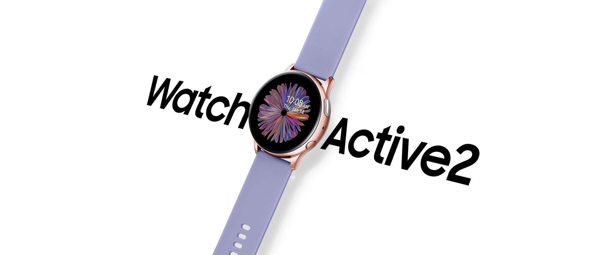 Samsung Galaxy Watch Active 2 Rose Gold smartwatch