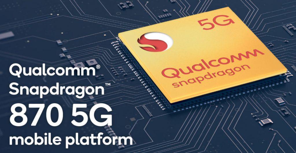 Snapdragon 870 5G (źródło: FoneArena)