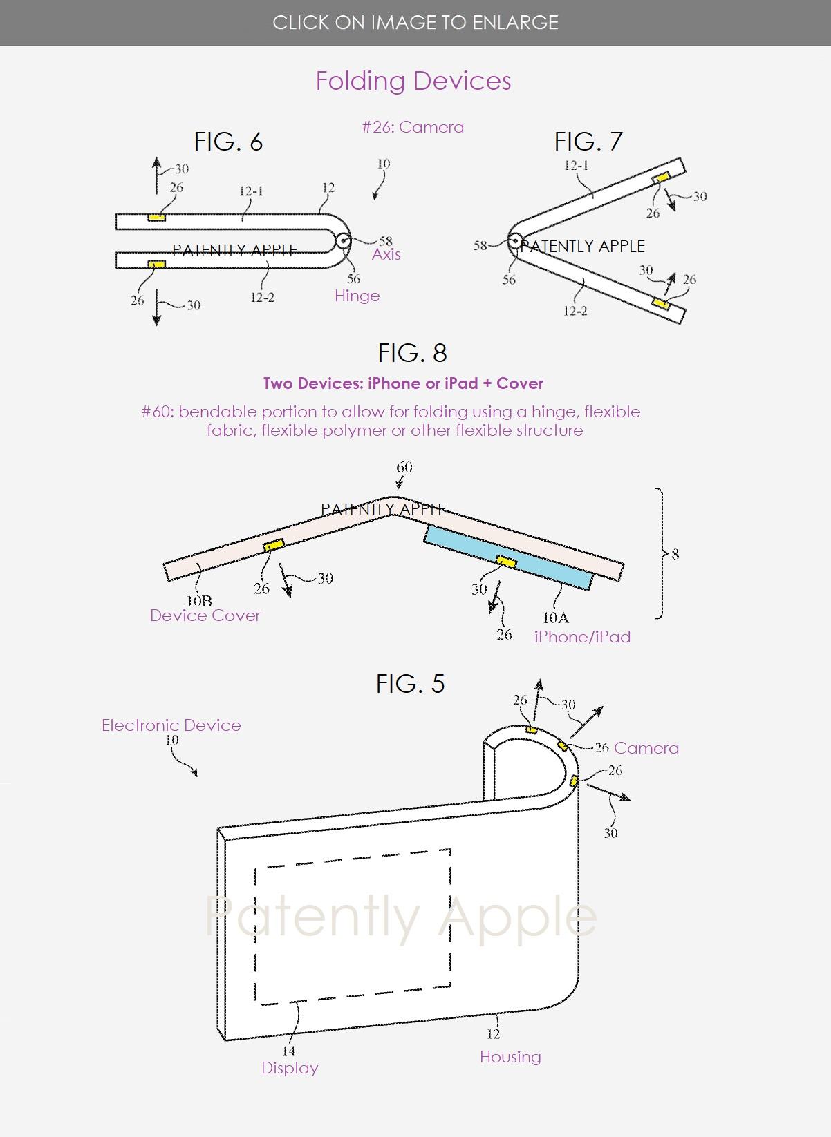 składany iPhone – patent