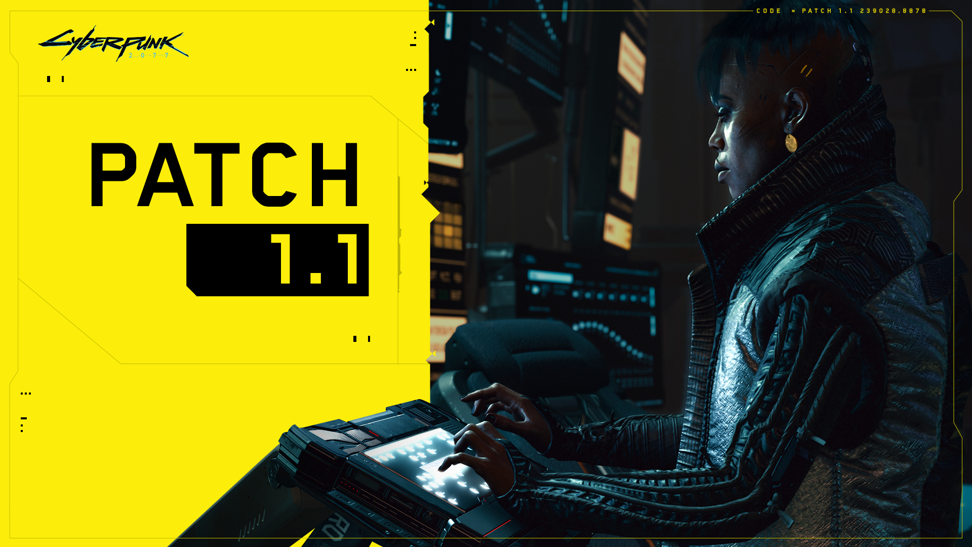 Cyberpunk 2077 dostaje Patch 1.1 – ma być DUŻO lepiej!