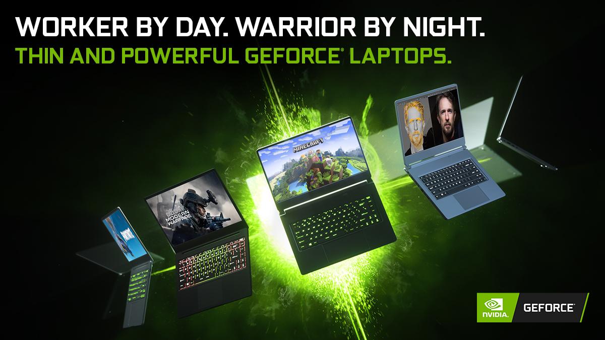 laptopy NVIDIA