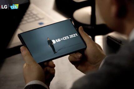 smartfon LG Rollable smartphone