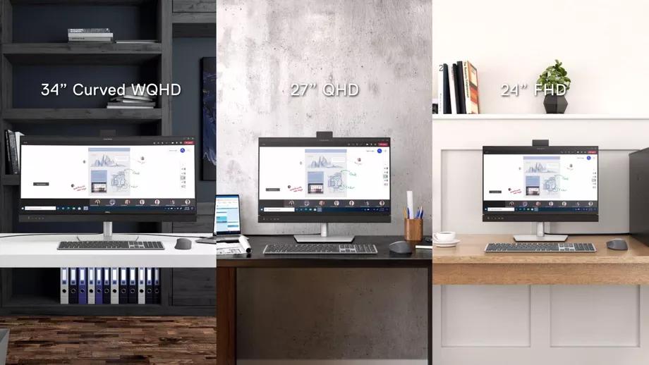 Nowe monitory Dell (źródło: The Verge)