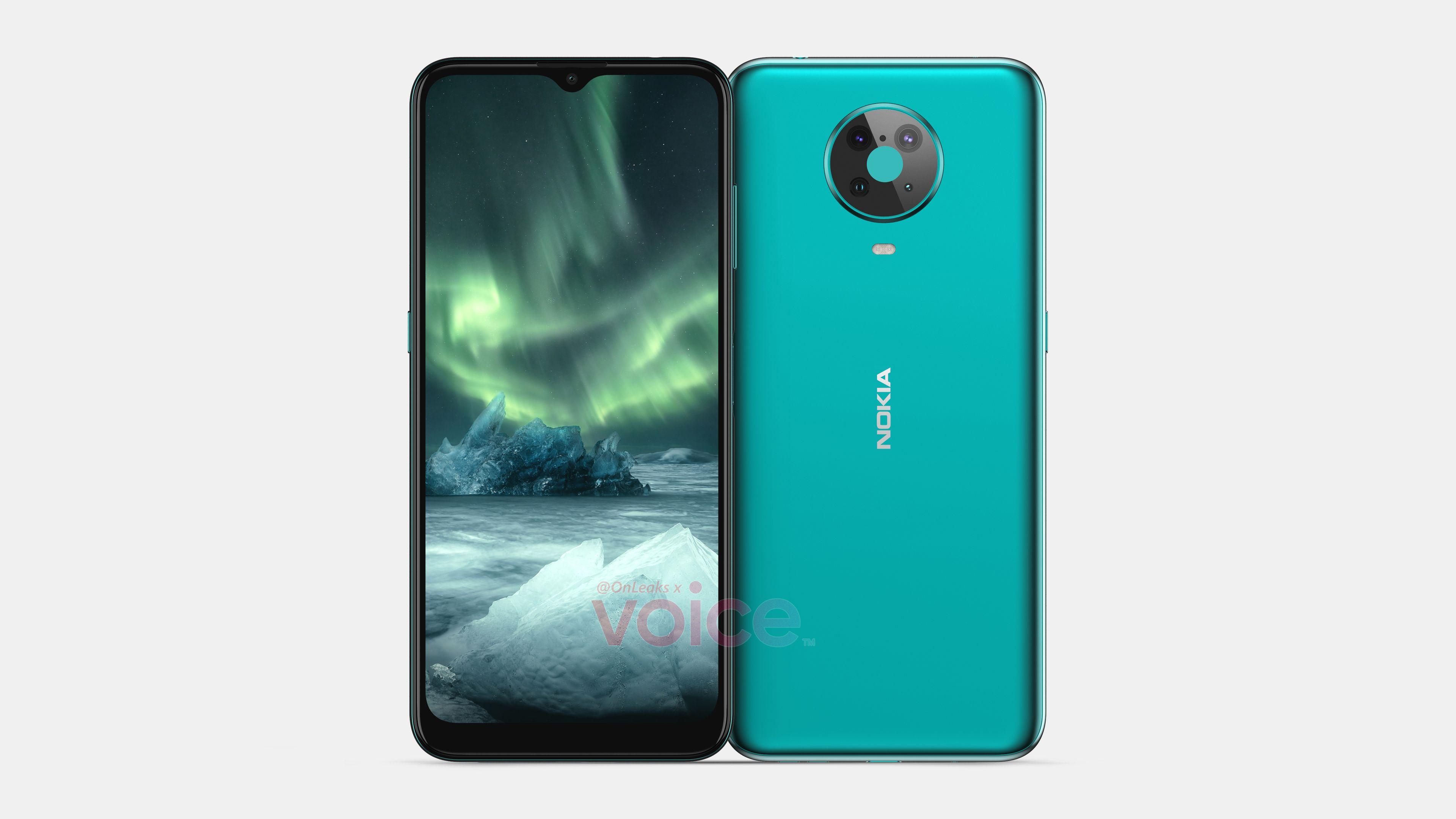 Nokia 6.3/6.4 (źródło: OnLeaks)