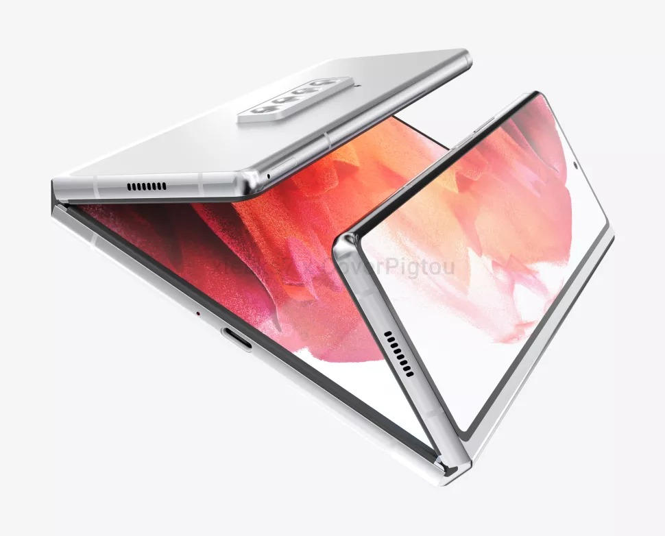 Samsung Galaxy Z Fold 3 fot. Pigtou/xleaks