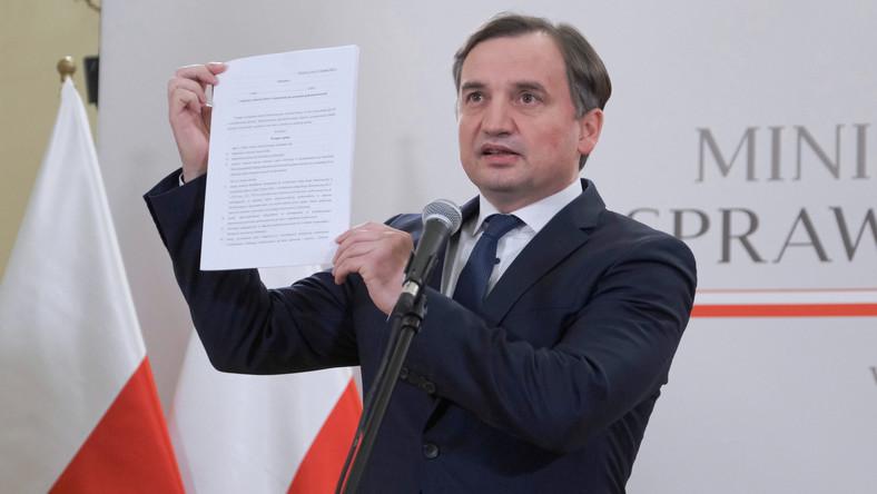 Ziobro i ochrona wolności słowa w internecie. Fot. PAP/Mateusz Marek