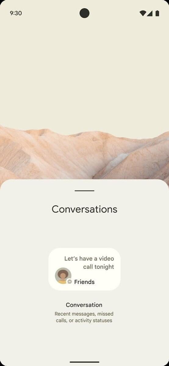 Android 12 - zrzut ekranu 3