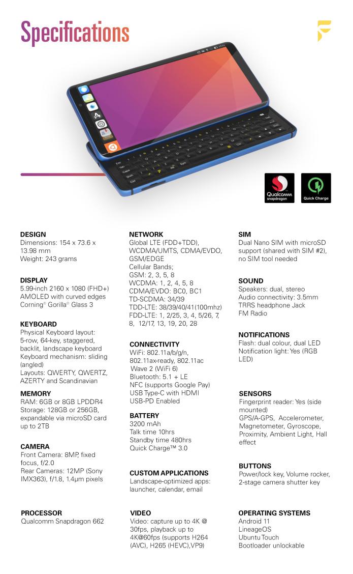 smartfon F(x)Tec Pro1-X smartphone