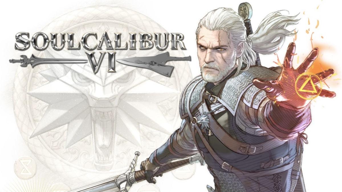 Geralt z Rivii w SOULCALIBUR VI