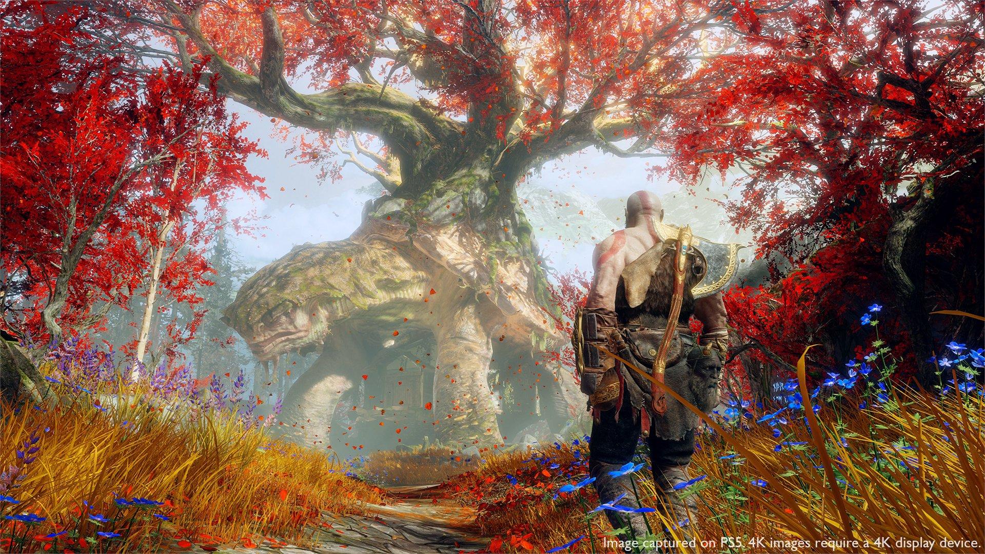 God of War: Ragnarok na PS4 sprawi radość wielu osobom, które na przesiadkę nie będą mogły sobie jeszcze pozwolić