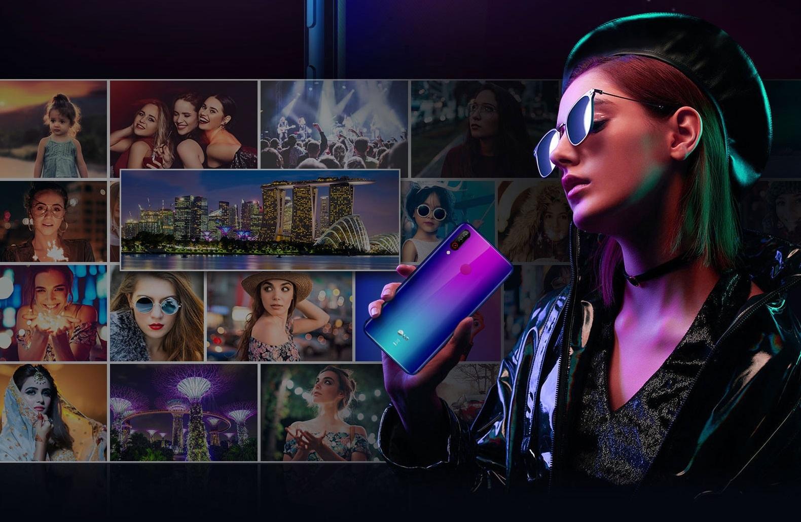 smartfon LG W30 smartphone