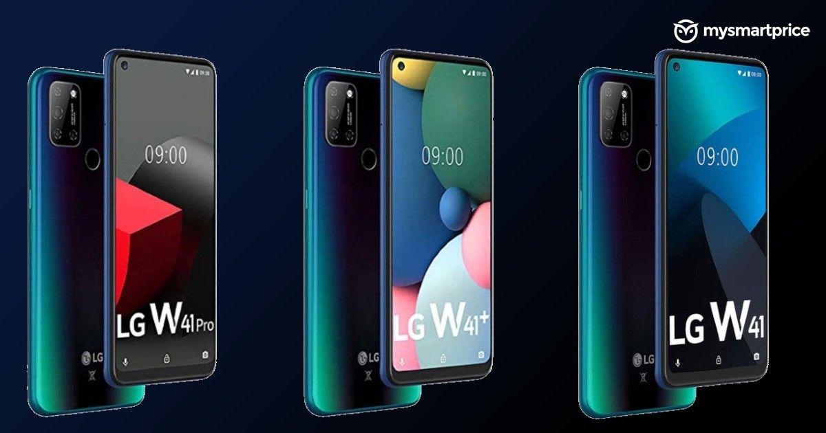 smartfon LG W41+ LG W41 Pro smartphone