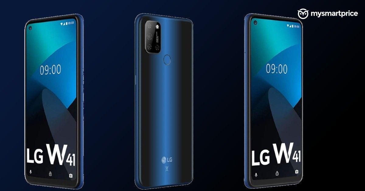 smartfon LG W41 smartphone