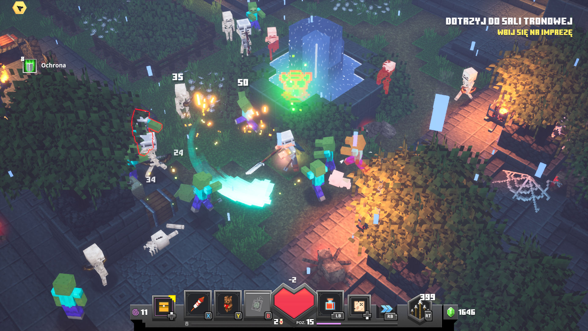 Minecraft Dungeons Xbox Series S
