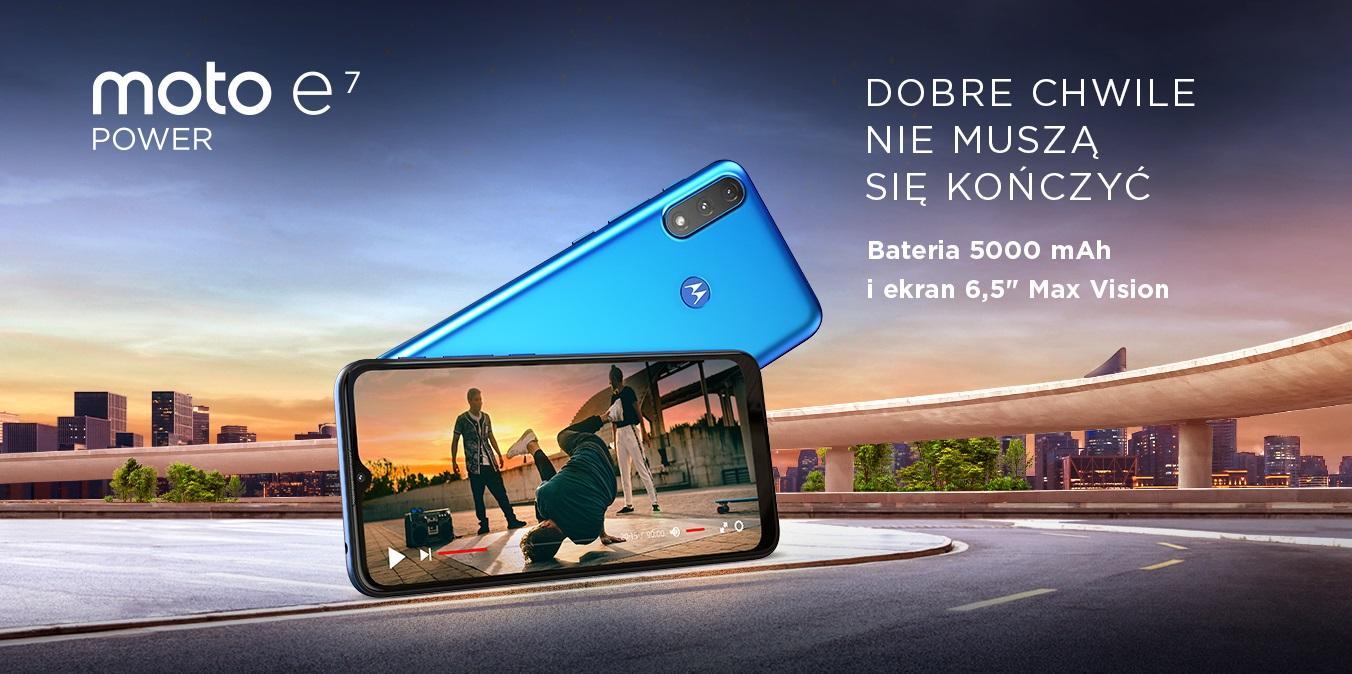 smartfon Motorola Moto E7 Power smartphone