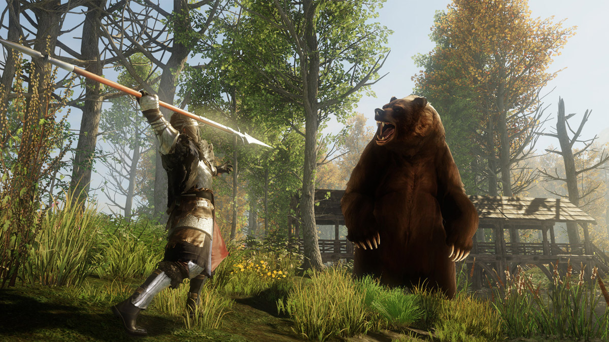 New World MMORPG Amazon