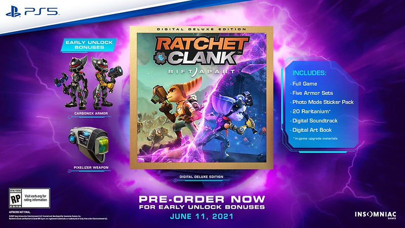 Ratchet & Clank Rift Apart data premiery zwiastun PlayStation 5