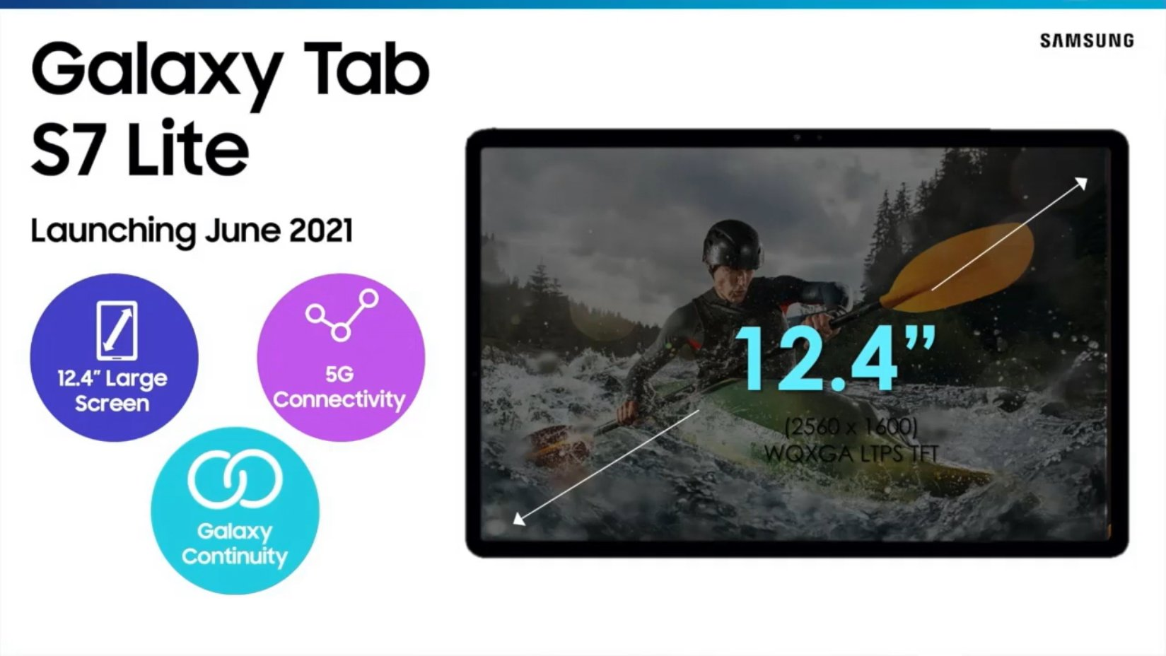 Samsung Galaxy Tab S7 Lite 5G tablet