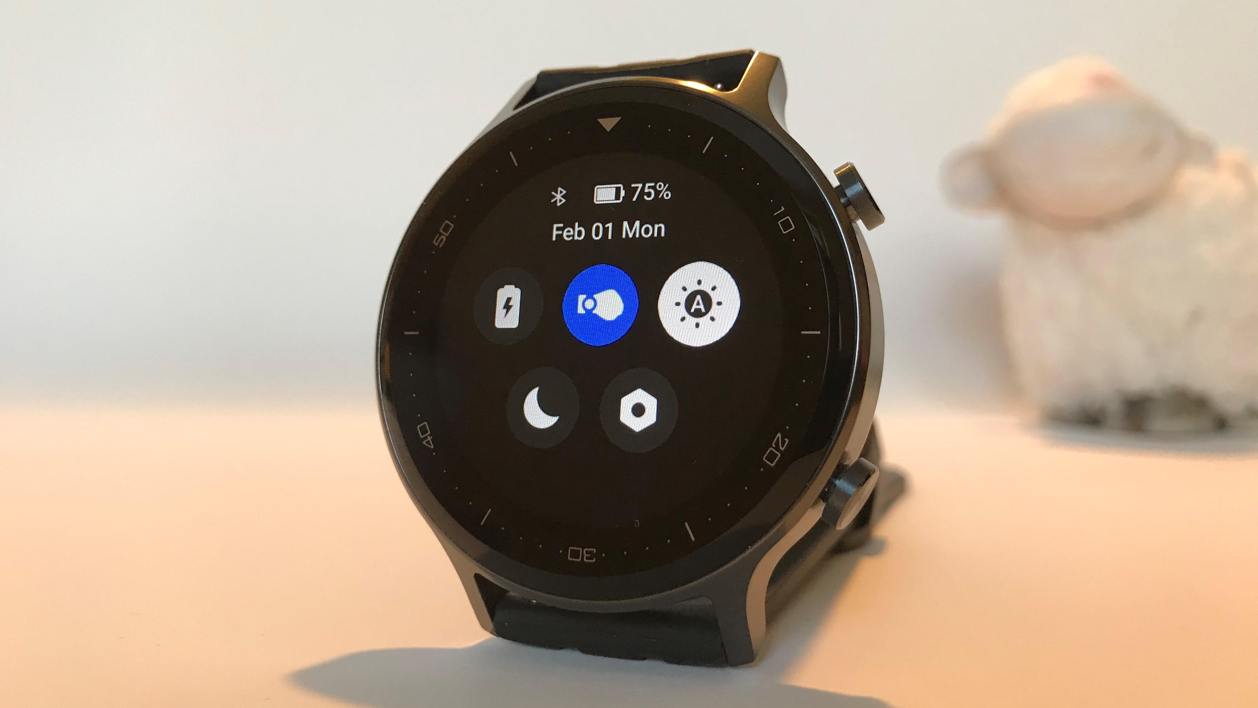 Testowany zegarek umożliwia automatyczne ustawianie jasności ekranu.