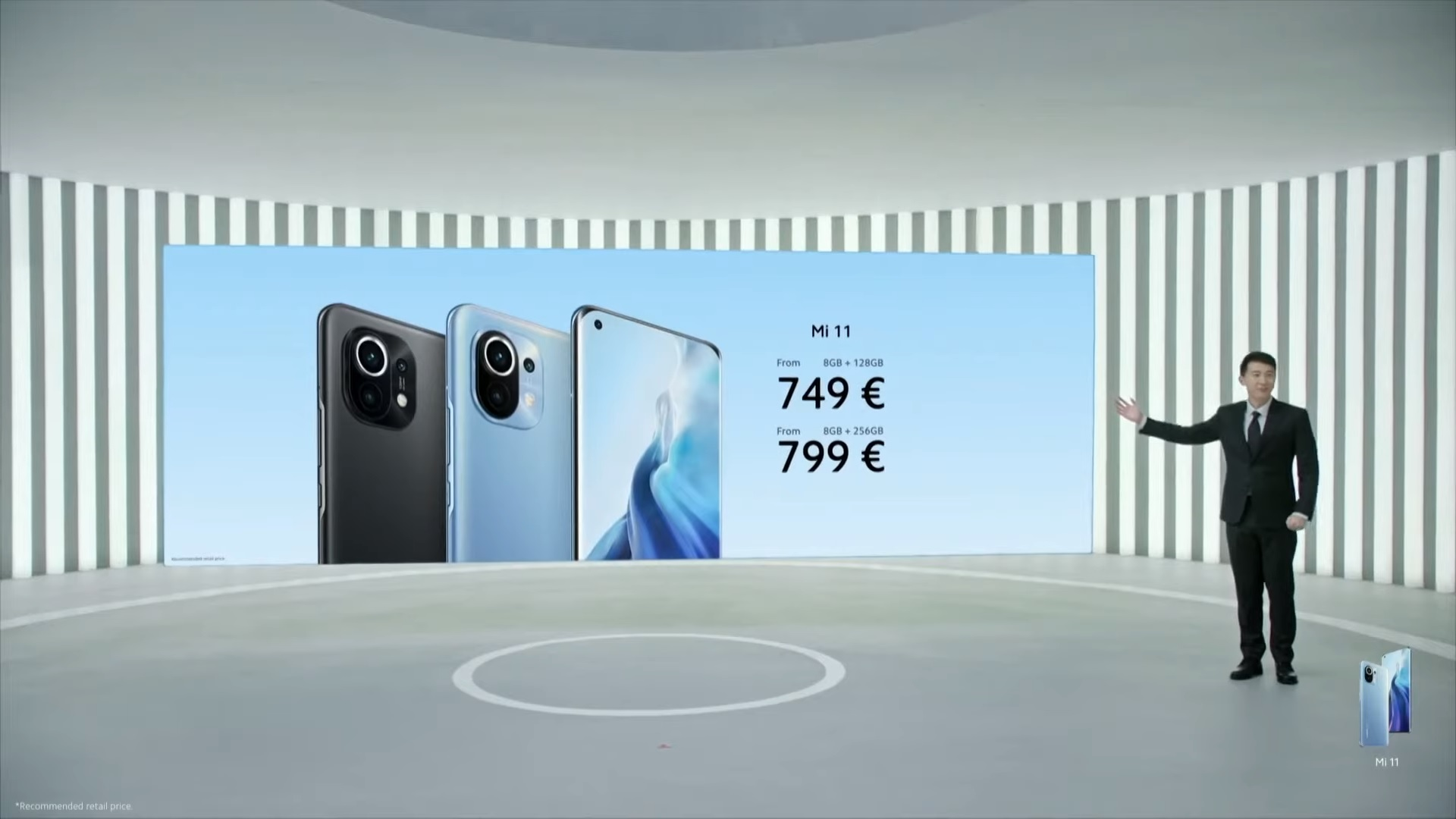 Xiaomi Mi 11 ceny w Europie