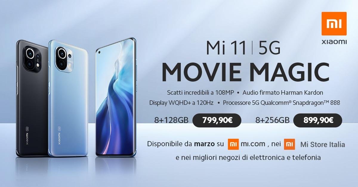 Xiaomi Mi 11 ceny we Włoszech
