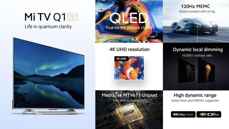 telewizor Xiaomi Mi TV Q1 75 cali