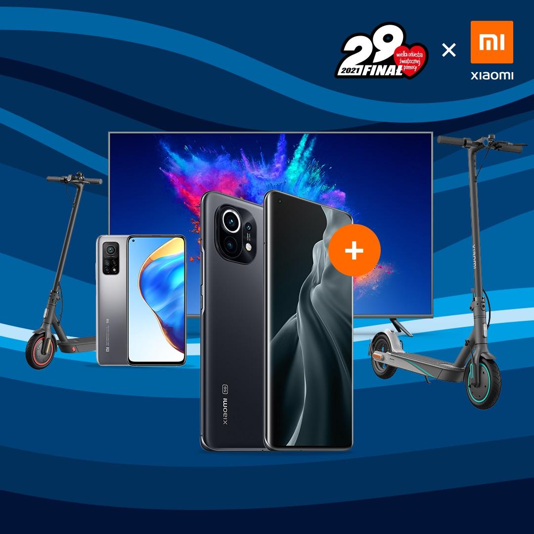 Xiaomi aukcja WOŚP 2021 Allegro
