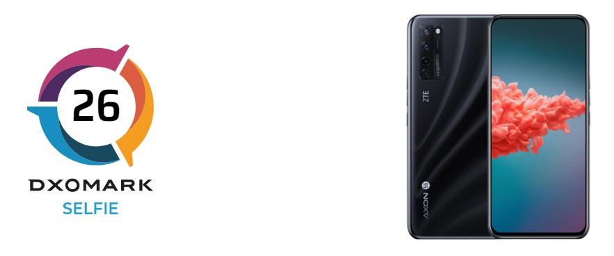 ZTE Axon 20 5G aparat pod ekranem ocena DxOMark