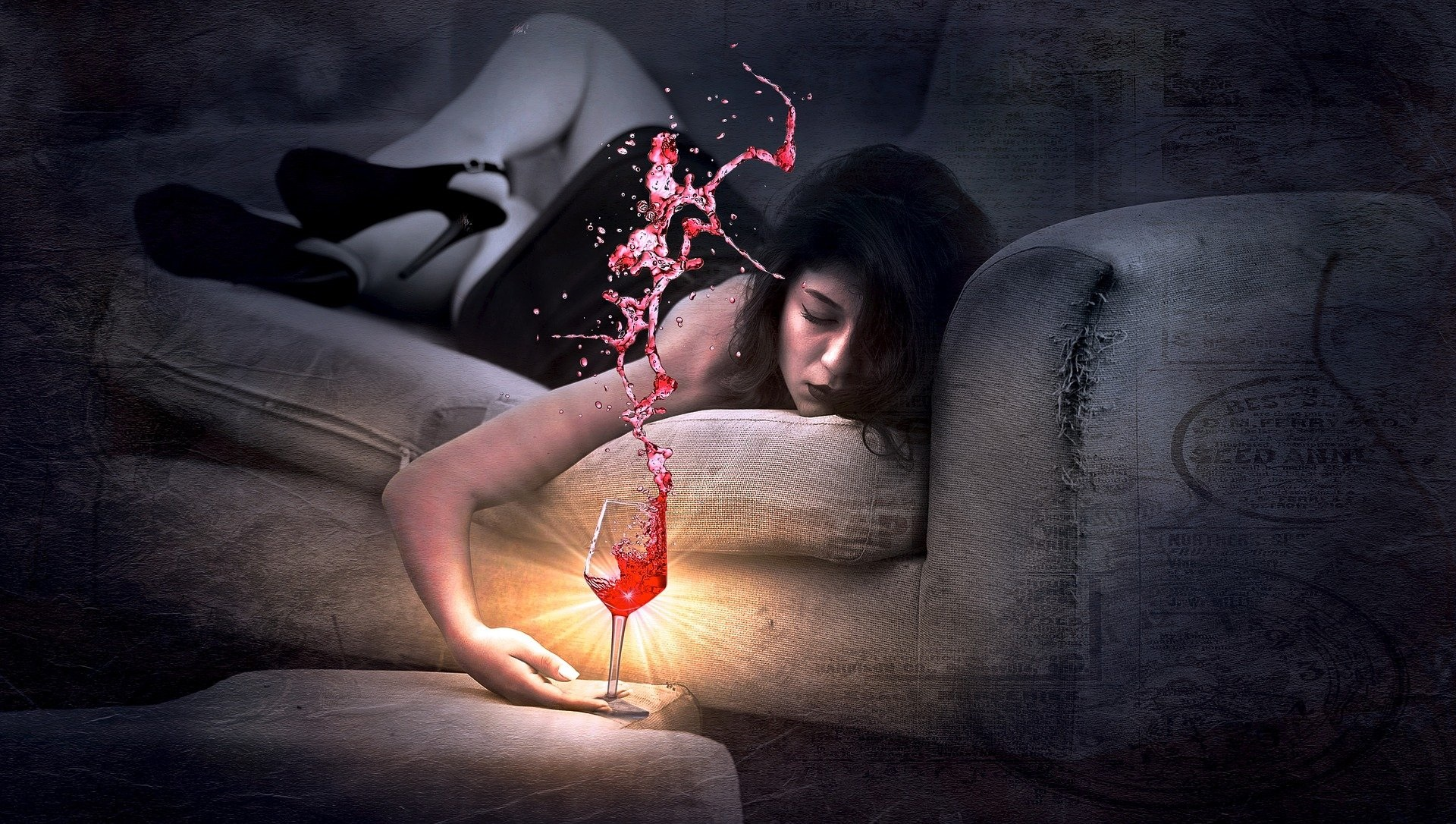 alkohol pijana dziewczyna girl