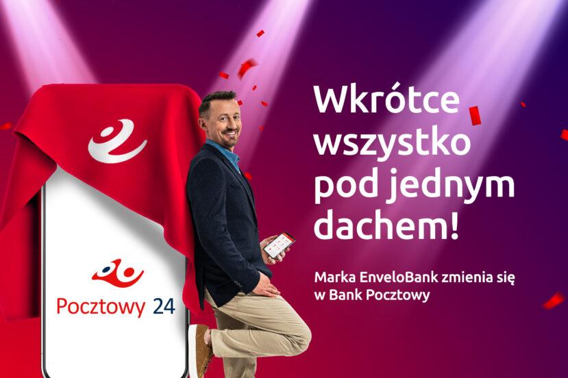 Reklama Banku Pocztowego - Wszystko pod jednym dachem