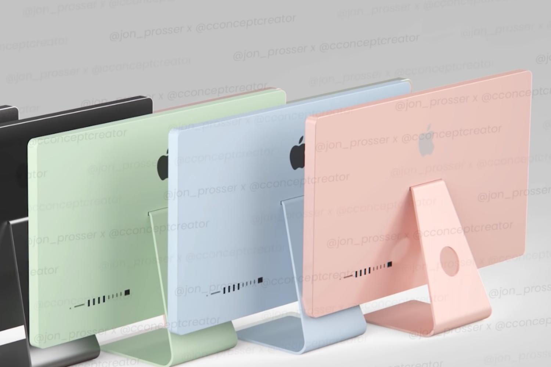 Niebieski, zielony czy różowy? Nowy iMac zadebiutuje w różnych kolorach