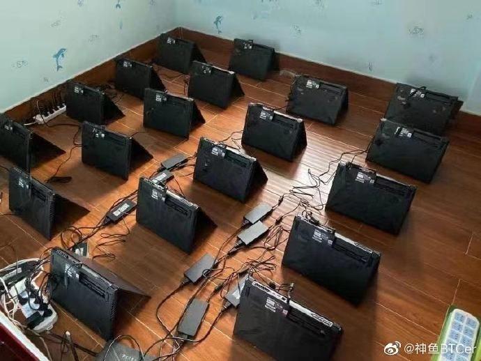 kopanie wydobywanie kryptowaluty na laptopach gamingowych